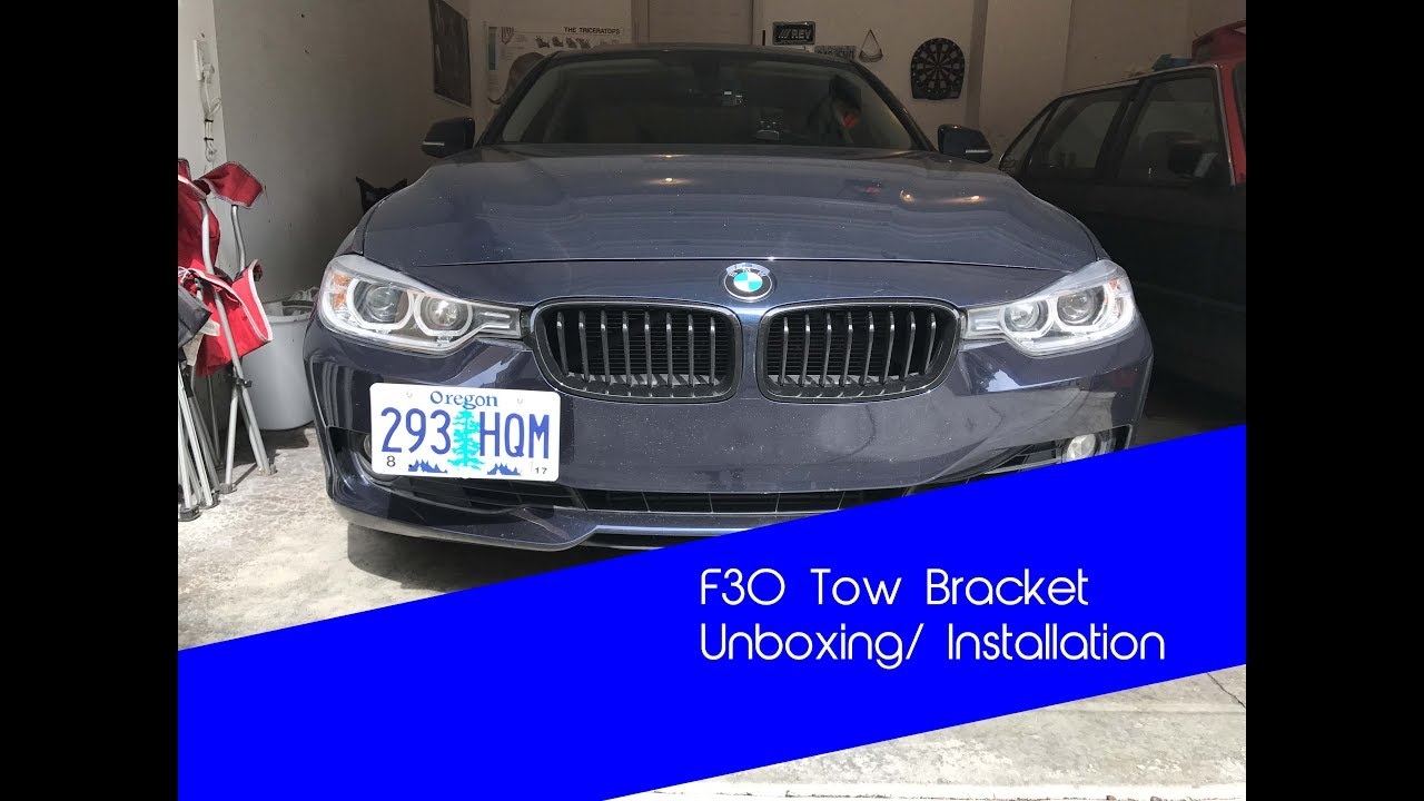 2012-2018 Easy to Install Made in the USA CravenSpeed Platypus License Plate Mount for BMW 3 Series F30