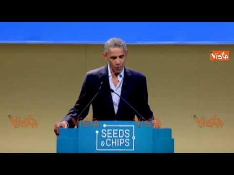 Obama ringrazia Sala e Renzi per l'invito a Milano