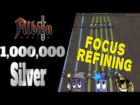 Albion Online | Money Making | Focus Refining - How I Make 1Million In 20 Minutes Per Day