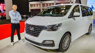 Khám phá xe MPV Hyundai Grand Starex VIP 7 chỗ cực chuẩn. Đối thủ của Grand Sedona và Alphard