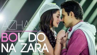 Please watch azhar in the theatre near you on 13th of may, 2016 subscribe , share & comment if love our work.... original credits song - bol do na...
