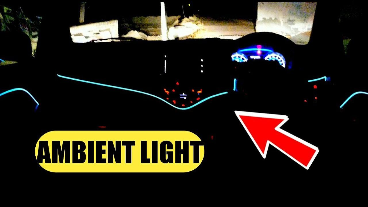 Ambient Light Installation In Any Car India Delhi Accessories For