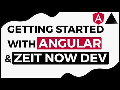 Going Full Stack with Angular and Zeit Now Dev (Serverless)
