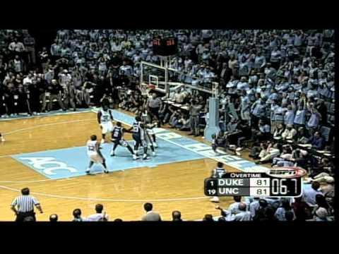#2: February 4, 2004: #1 Duke 83, #17 North Carolina 81 (OT)