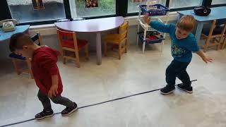 Γυμναστική παιδιά 2,6 - 3 χρονών