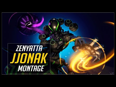 JJonak Zenyatta - God of Zenyatta ? | Overwatch Moments thumbnail