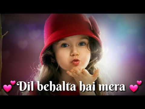 Dil behalta hai mera💕👫💕Aapke aa jane se (whatsapp status song...)