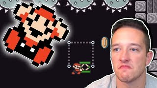 WHAT DID I DO TO DESERVE THIS MAYRO?!   Mario Maker Level Showcase