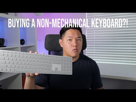 Why I Bought A Non-Mechanical Keyboard | Microsoft Modern Keyboard Review
