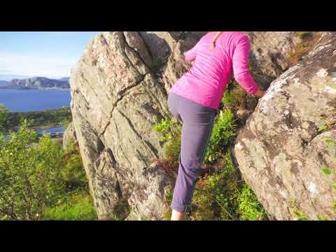 Running in Aalesund, Norway