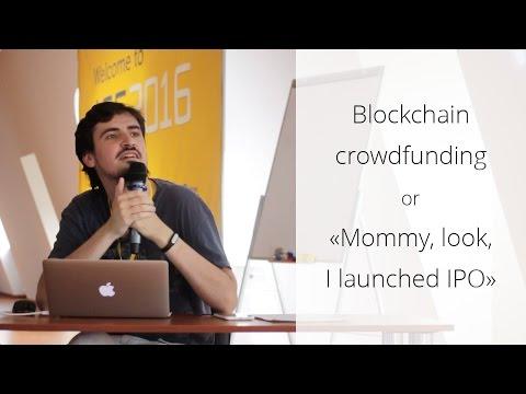 """Андрей Соболь - Blockchain crowdfunding или """"Мама, смотри, я вышел на IPO"""" (Rus)"""