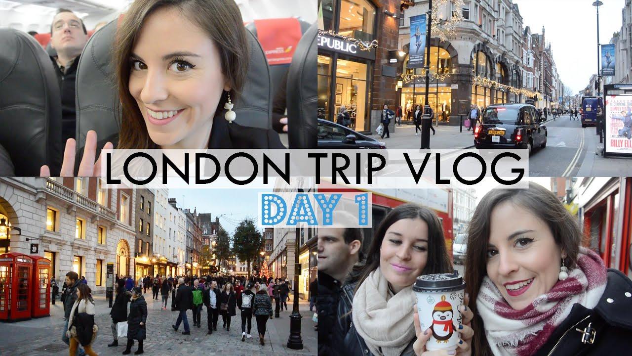 london trip vlog day 1 covent garden soho christmas shopping