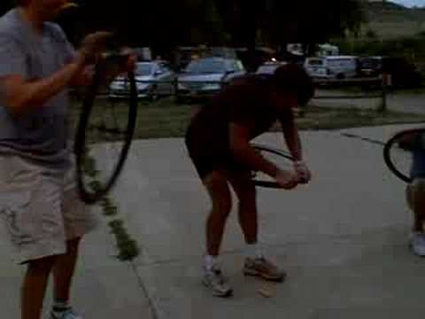 Bike Journal Reunion 2008 Tire Changing Race