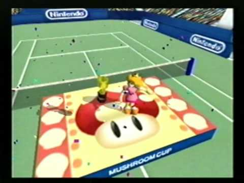 Download Youtube: Mario Tennis - All Character Trophy Celebrations