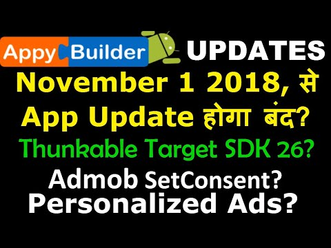What is Admob Personalized Ads? Google Play Target SDK API Level ?
