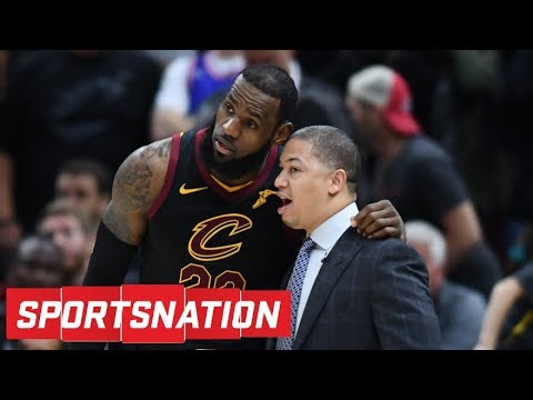 Tyronn Lue meeting with Lakers coaches to clear up misconceptions about LeBron | SportsNation | ESPN