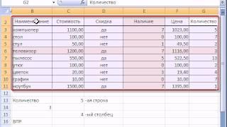 7  Малоизвестные ГПР и ВПР Microsoft Excel(Уроки Excel 2010. Независимые сводные таблицы. Как работать в Эксель? Обучение Excel 2013. Бесплатный курс. Макросы..., 2015-05-19T18:57:15.000Z)