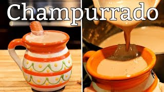 CHAMPURADO MEXICAN STYLE THICK BEVERAGE WITH FLOUR
