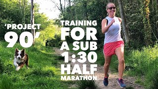 'Project 90' - Mary's Training Routine for a sub 1:30 half marathon