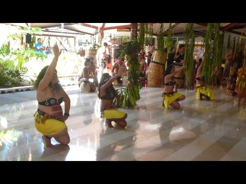Marquesan Dancing and Drumming