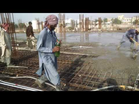 Concrete of RCc slab.... In pakistan