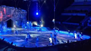 «Crystal» - первое ледовое шоу Cirque du Soleil премьера которого состоялась в Лужниках.