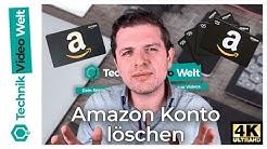Amazon Konto schließen und löschen 🚫