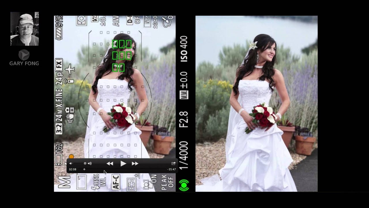 How To Photograph Weddings Using Flash Outdoors Youtube
