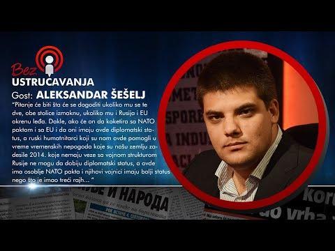 BEZ USTRUČAVANJA - Aleksandar Šešelj: Aleksandar Vučić ne može da sedi na dve stolice!