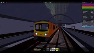 Roblox SCR cab camera Stepford Central to Airport Terminal 2 on Airlink class 185148