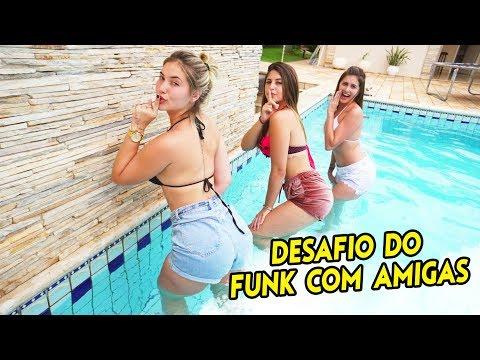 DESAFIO DO FUNK NA PISCINA COM AMIGAS!!!!!!