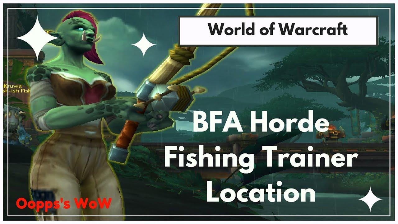 Warcraft train fist weapon