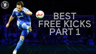 The Very Best Chelsea Free Kicks ft. Lampard, Drogba, Alex 🚀 | Part 1