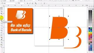 Coreldraw in hindi Lecture 13 BANK OF BARODA