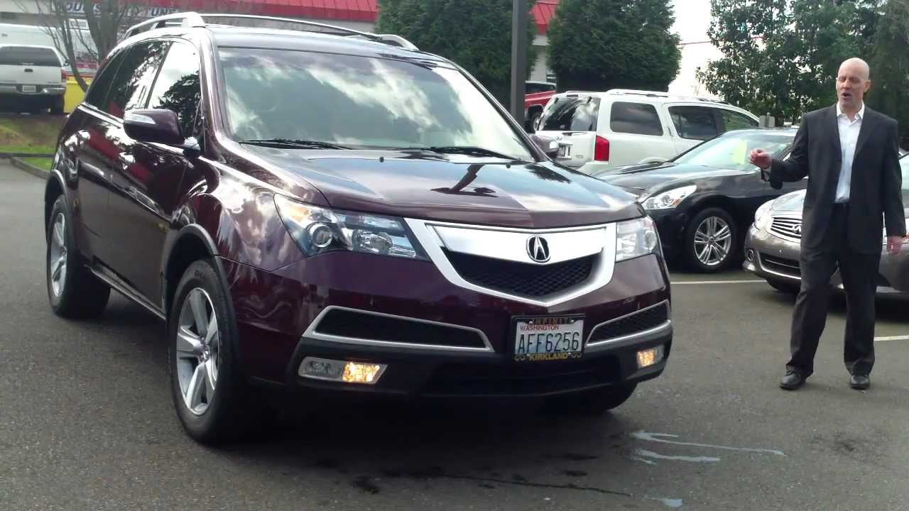 Worksheet. 2011 Acura MDX SHAWD review start up exhaust  The