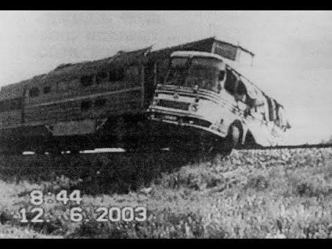 Аварии с автобусами  на железнодорожных переездах |  документальное видео © 2019