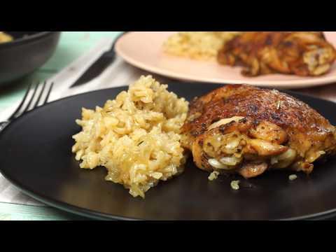Курица с рисом на сковороде – ВКУСНЕЕ мы ещё не ели!