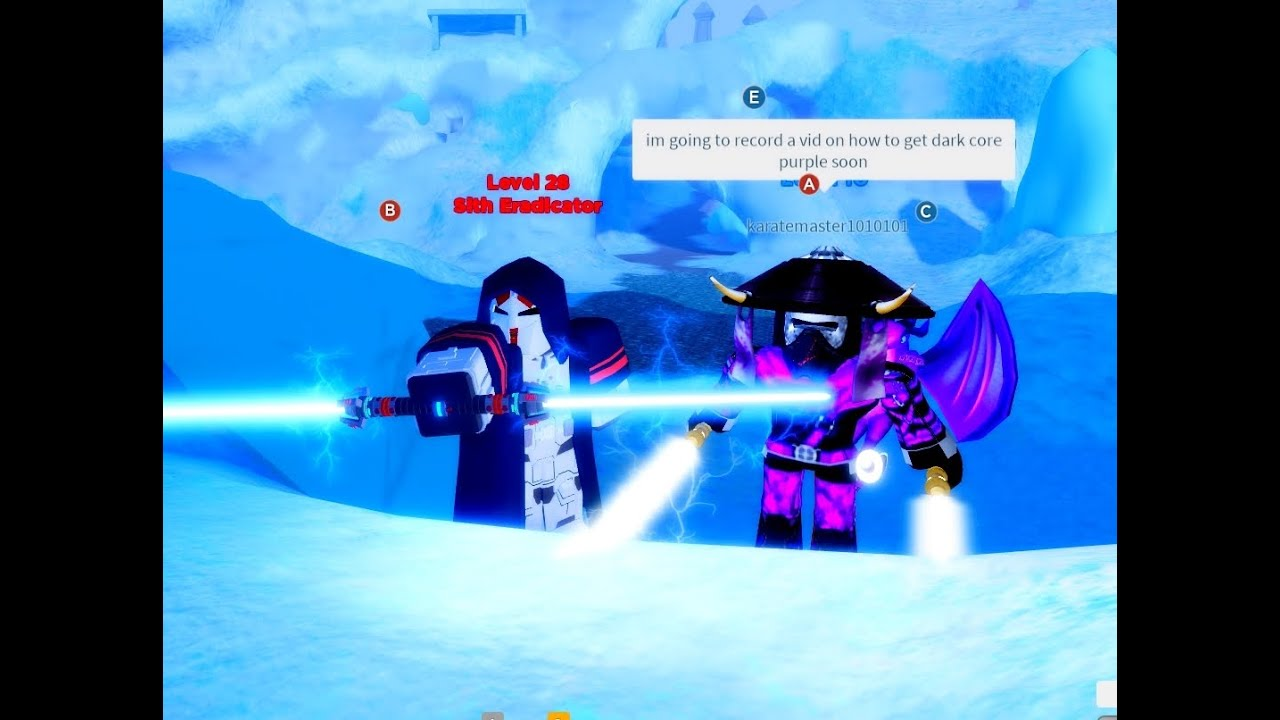 Ilum 2 Maze Unstable Blue Solved Roblox Star Wars Youtube
