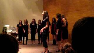The Way I Am - The Cocktails female acapella
