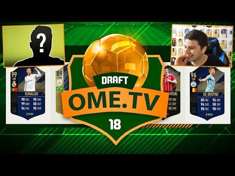 DRAFT WEDŁUG OME.TV Z RONALDO 97!!   FIFA 18