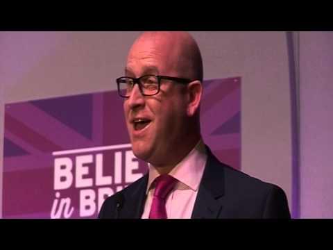Closing Address - Paul Nuttall MEP - UKIP Spring Conference 2015