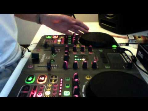 Short scratch mix session on m audio xponent