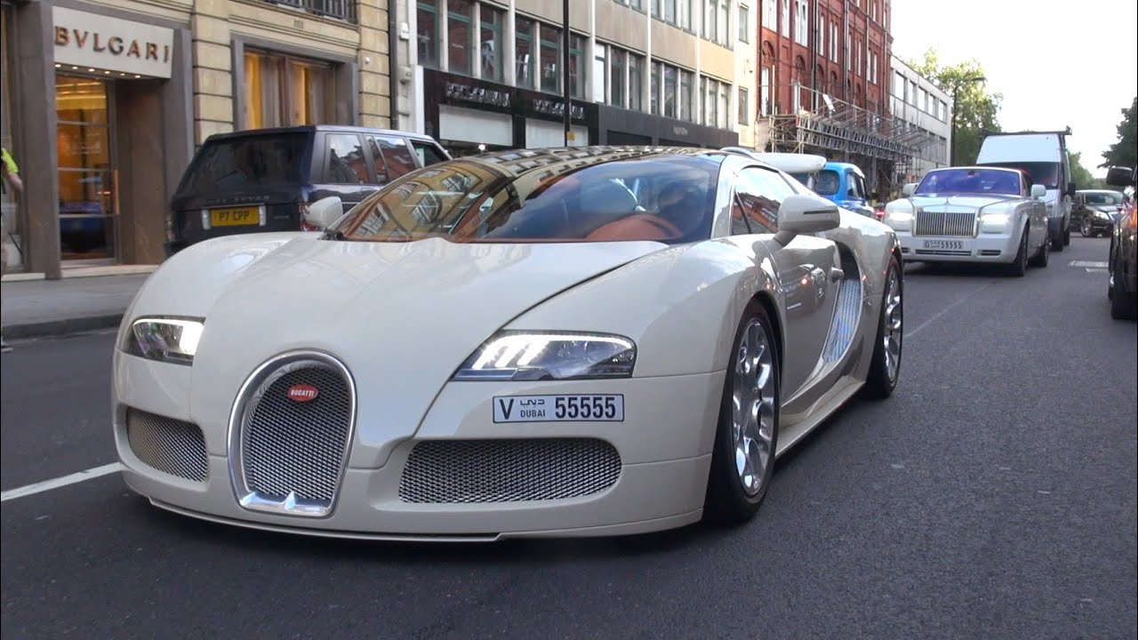 bugatti veyron 16 4 grand sport on the road in london youtube. Black Bedroom Furniture Sets. Home Design Ideas