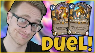 A DUEL with DRAGONS (These Games Were NUTS!) | Big Paladin | Descent of Dragons | Wild Hearthstone