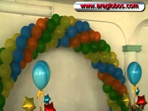 Decoracion con globos personajes marvel - Decorar con globos ...