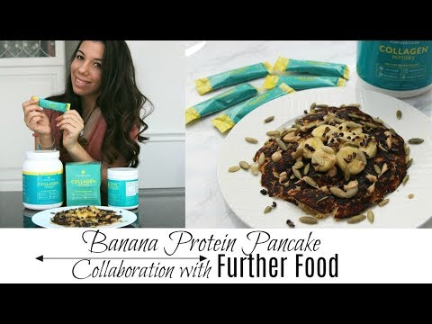 Banana Protein Pancake | Collaboration with Further Food