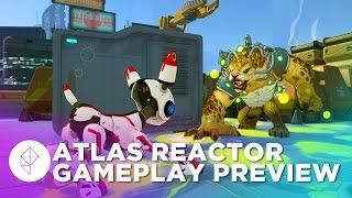 20 Minutes of Atlas Reactor Gameplay - Dota 2 Meets XCOM!