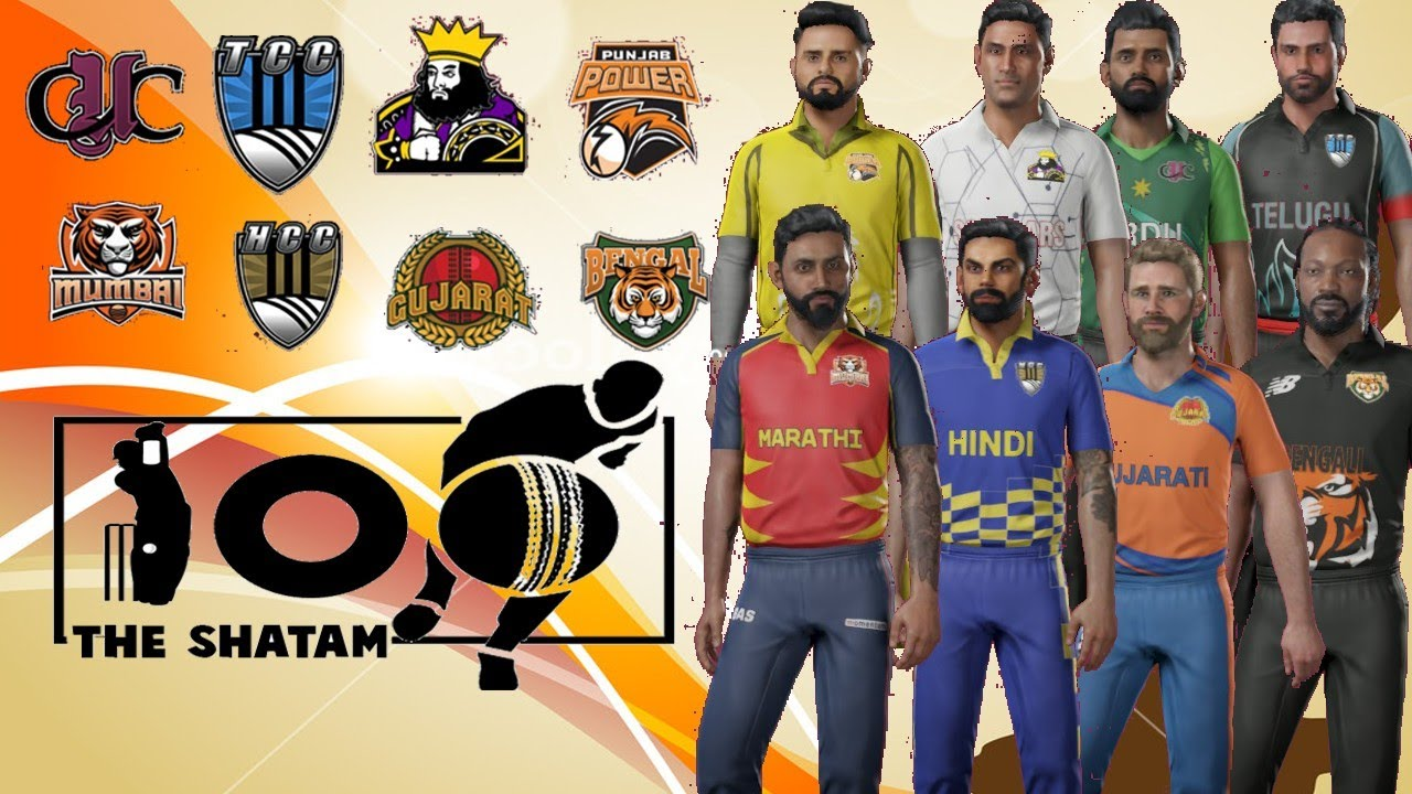 Announcement : Foreign / uncapped indian players transfer, Final team names - THE SHATAM