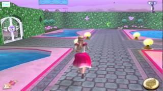 ИГРА 12 Танцующих принцесс Барби на русском языке Прохождение игры 2015 года Серия 2