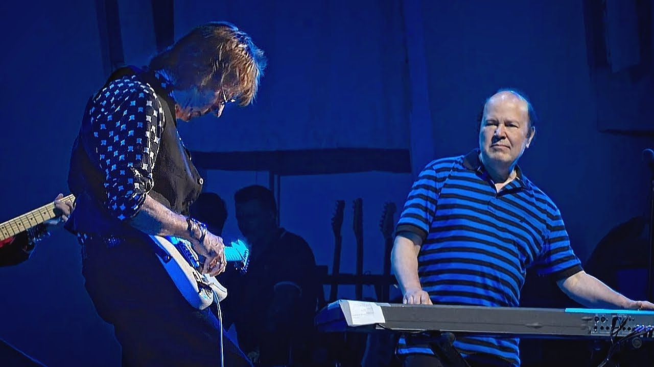 jeff beck w jan hammer live at the hollywood bowl blue wind [ 1280 x 720 Pixel ]